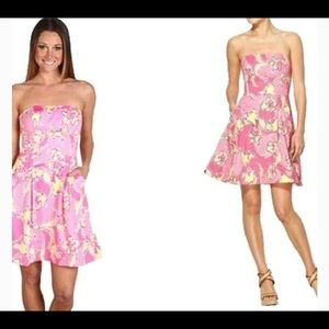 Lilly Pulitzer Strapless Blossom Sundress